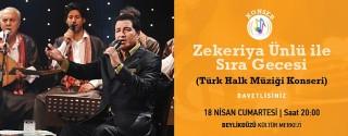 Zekeriya Ünlü Konseri afiş