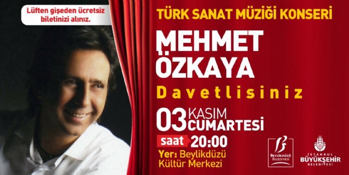 Ücretsiz Mehmet Özkaya Konseri