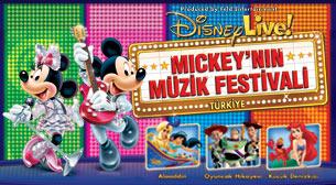 Disney Live! Mickey'nin Müzik Festivali afiş