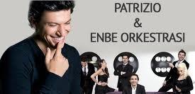 Patrizio Buanne &Enbe Orkestrası Konser afiş