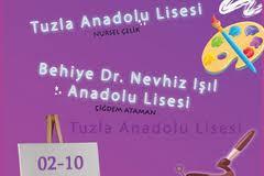 Behiye-Dr.Nevhiz Işıl Anadolu Lisesi ve Tuzla Anadolu Lisesi Resim Sergisi afiş