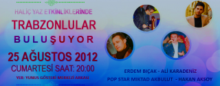 Trabzonlular Buluşuyor afiş
