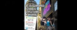 6.İstanbul Street Dans Karnavalı afiş