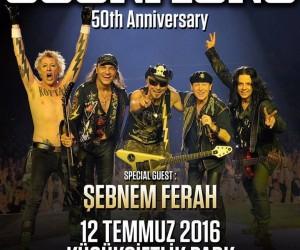 Scorpions 50.Yıl Festivali