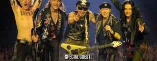 Scorpions 50.Yıl Festivali afiş