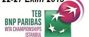 Teb Bnp Paribas Wta Championships İstanbul (Tenis Turnuvası) afiş