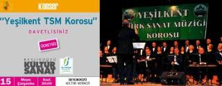 Yeşilkent Tsm Korosu Konseri Ücretsiz afiş