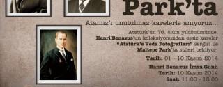 Hanri Benazus İmza Günü ve Sergi afiş