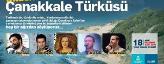 Dilden Dile Çanakkale Türküsü afiş