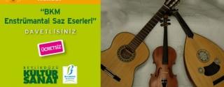 BKM Enstrümantal Saz Eserleri Konseri afiş