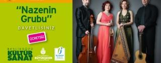 Nazenin Grubu Konseri afiş