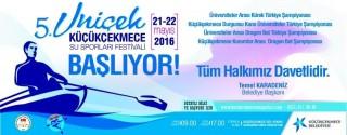 Uniçek Su Sporları Festivali afiş