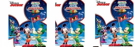 Mickey Mause Bir Uzay Maceras cretsiz afi