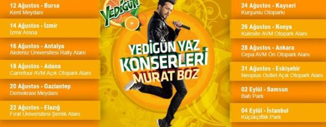 Murat Boz Yedigün Yaz Konseri