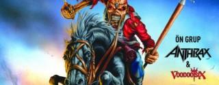 Iron Maiden Konseri afiş