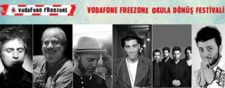 Vodafone Freezone Okula Dönüş Festivali afiş