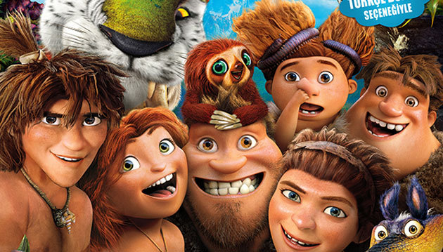 Crood'lar 3D/The Croods 3D Sinema Ücretsiz afiş