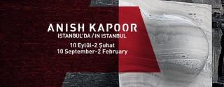Anish Kapoor İstanbul'da! afiş