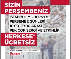 İstanbul Modern Sizin Perşembeniz