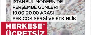 İstanbul Modern Sizin Perşembeniz afiş
