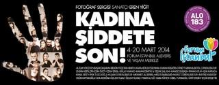 Kadına Şiddete Son! afiş