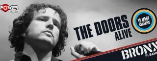 The Doors Alive Konseri afiş
