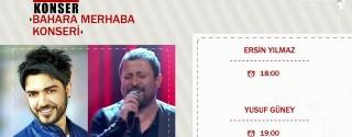 Yusuf Güney & Ersin Yılmaz Bahara Merhaba Konseri Ücretsiz afiş