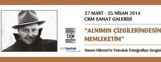 Nazım Hikmet'in Yolculuk Fotoğrafları Sergisi afiş