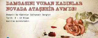Osmanlı'da Kadınlar Saltanatı Sergisi afiş