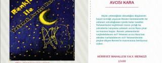 Ücretsiz Renkli İle Yetenek Avcısı Kara Çocuk Tiyatrosu afiş