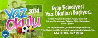 Eyüp Belediyesi Yaz Okulları Başlıyor! afiş