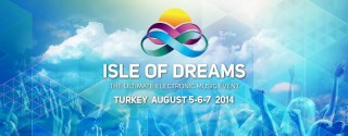 Isle Of Dreams Festivali afiş