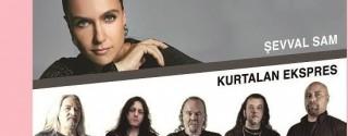 Şevval Sam & Kurtalan Ekspresi Konseri afiş