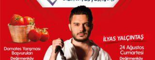 Domates Festivali  – İlyas Yalçıntaş Konseri Ücretsiz afiş