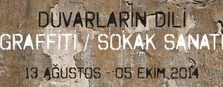Duvarların Dili Graffiti Sokak Sanatı afiş