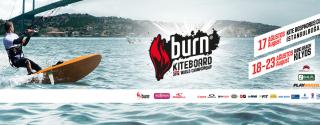 Burn Kiteboard 2014 afiş