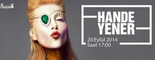 Hande Yener KAÇUV İçin Starcity'de afiş