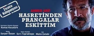 Hasretinden Prangalar Eskittim Tiyatro afiş