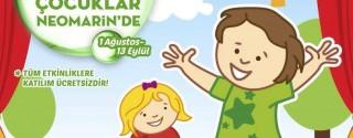 Yaratıcı Çocuklar Neomarin'de Buluşuyor! afiş