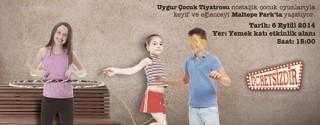 Nostaljik Çocuk Oyunları Maltepe Park'ta! afiş