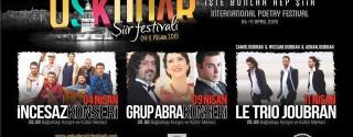 Uluslararası Üsküdar Şiir Festivali afiş