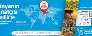 10.Uluslararası Geleneksel Sanatçılar Buluşması afiş