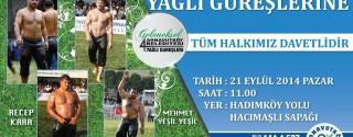 Arnavutköy Belediyesi Yağlı Güreşleri afiş
