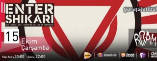 Enter Shikari Konseri afiş