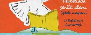 Kütüphane Şenliktir! afiş