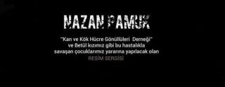 """Nazan Pamuk """"Yanımda Olur Musun?"""" Sergisi afiş"""