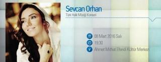 Sevcan Orhan Konseri afiş