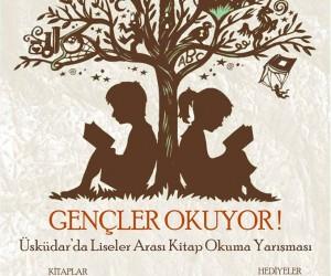 Üsküdar'da Liseler Arası Kitap Okuma Yarışması