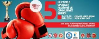Mücadele Sporları Festivali ve Cumhuriyet Kupası afiş