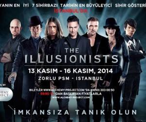 The Illusionists Dünyanın En İyi Sihirbazları İstanbul'da